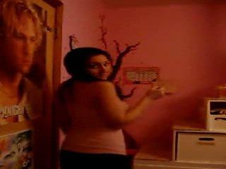 Arab dospívající stripping