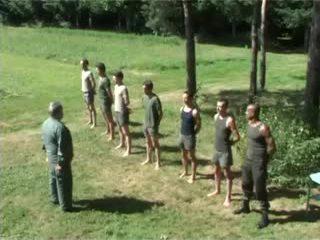 Hazed tentara undress