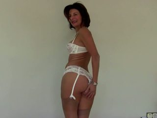 Mature Slim Granny with Hairy Pussy, Free Porn 46