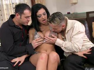 plezier hardcore sex, beste dubbele penetratie heet, kijken groepsseks ideaal