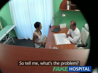 Fakehospital russian maly gives dhokter a sexual favour