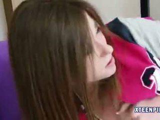 Innocent nastolatka dziewczyna terra cox creampied
