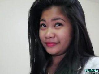 Gros seins filipina ado et une grand blanc bite