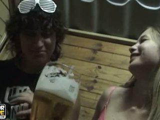 teen couple, amateurs, kissing