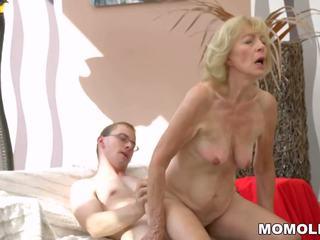熱 奶奶 creampied: 免費 lusty grandmas 高清晰度 色情 視頻 b8