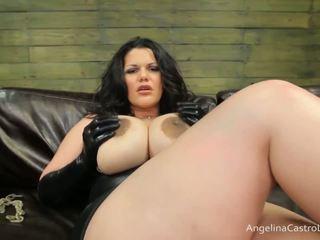Grande titted angelina castro cocks dominação!