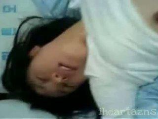 Coréen amateur fingered puis baisée