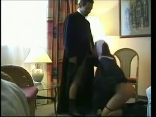 Bisexual nun fucking