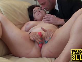 Hot Chubby Brunette Nikki G Plays with Her Cunt for.