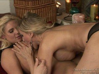 sex lezbike, i freskët big gjirit, të gjithë lezbike