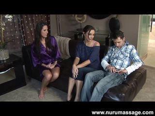 mamada, tetas grandes, masaje erótico