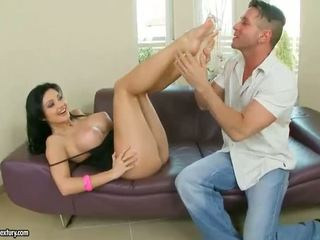 real foot fetish, new toe sucking any