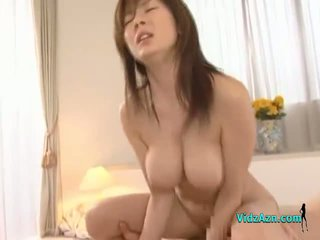 Busty Asian Girl Getting Her Pussy Fucked Hard Facial On The Bed