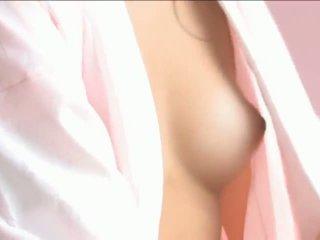 Iori mizukilovely japansk babe gets brystvorter licked og poserer