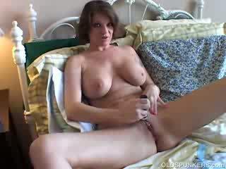 tits, old, grandma