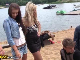Rus fata inpulit greu la padure video