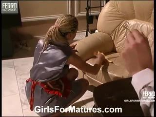 Esther And Ninette Pussylicking Mature...