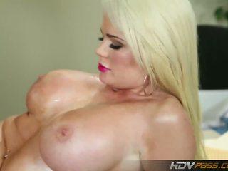 blondinen, große brüste, hahnrei