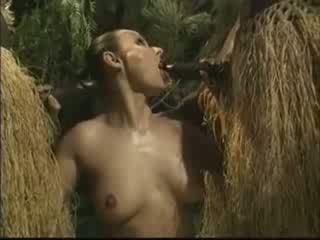 אישה, אפריקאי, אמריקאי