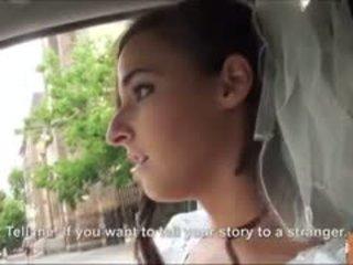 Hot brud fucks etter failed bryllup