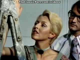Juliet anderson, john holmes, jamie gillis w klasyczne pieprzyć klips