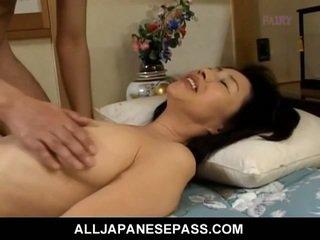 brunetă, japonez, pe la spate