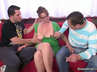 old, 3some, babica