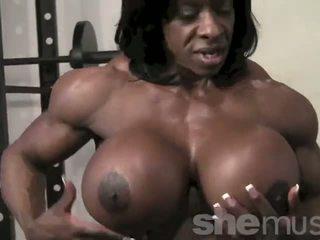 אבוני female muscle