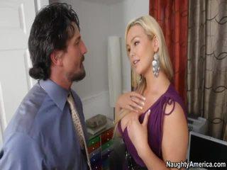 ताजा कट्टर सेक्स आदर्श, ताजा blowjob आप, कोई बड़े स्तन