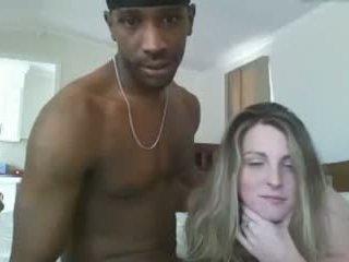 White girl sucks BBC and gets fucked