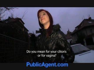 चेक रेडहेड goes घर साथ the पब्लिक agent