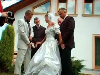 wedding, european, pesta