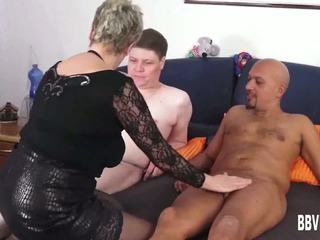 German Granny Fuck Two Dicks, Free German Fuck HD Porn e5