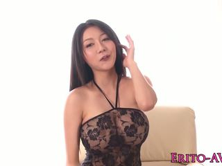 Hot asia model miho ichiki gets a creampie