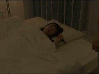 japanse, slaapkamer, aziatisch