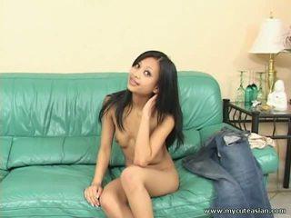 Slim Sexy Asian Girl Masturbation