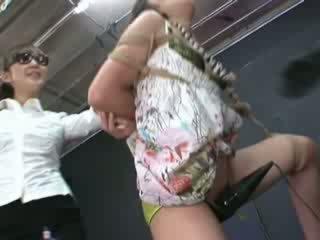 Ayumi gets seotud ja tortured