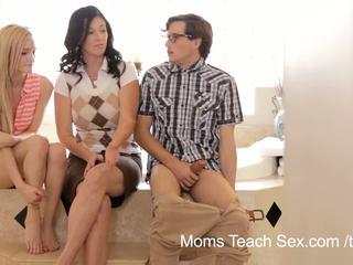 ママ 教える セックス
