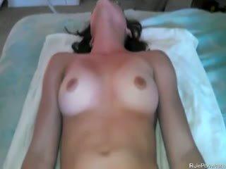 brunette, anal, pov