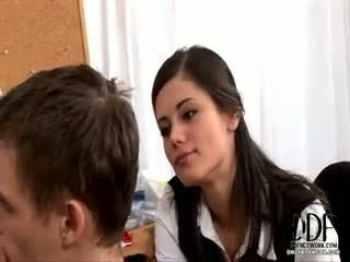 Little Caprice Gives A Blowjob