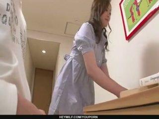 Skilled miyama ranko teeb teda sperma ilma penetration