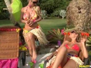 Havajčanke lesbos