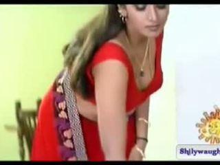 South הידי שחקנית bhuvaneshwari navel מופע