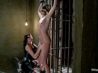 Maitresse madeline pedepsit și inpulit și hazed în ca director de whipped fund de printesa donna
