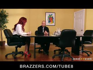 kissing, brazzers, redhead