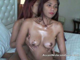 Asian Filipinas AsianWebcamGirls.Com lesbian oil massage tits