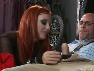 Red Haired Lover Dani Jensen Can Not Live Without The Thick Cock SliDing In And Out Her Mouth