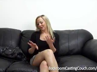 cum, audition, första gången