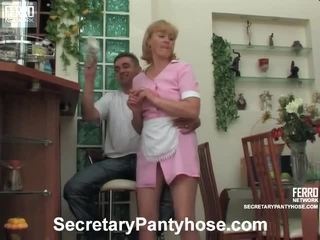 Emilia And Desmond Office Hose Porn Video