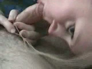 Blond babe suck extracting and fuck
